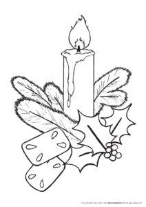 Adventskerze Gemeindebriefhelfer