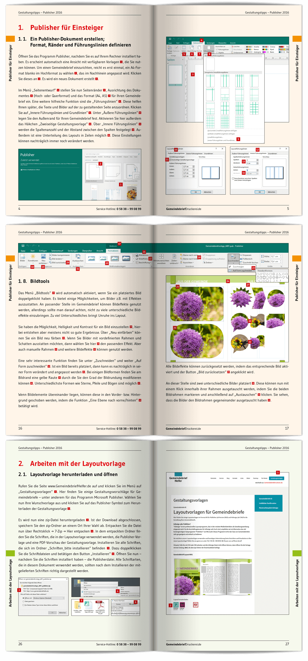 Ungewöhnlich Publisher 2010 Vorlagen Bilder ...